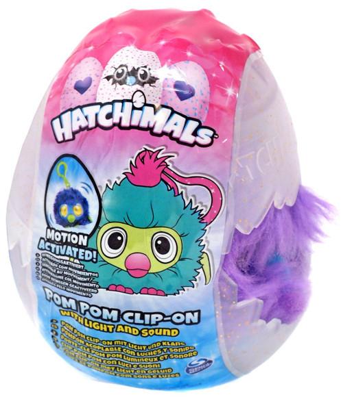 Hatchimals Pom Pom Clip-On Draggle Clip-On [Purple & Blue]