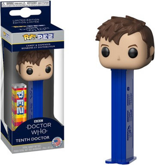 Funko Doctor Who POP! PEZ Tenth Doctor Candy Dispenser