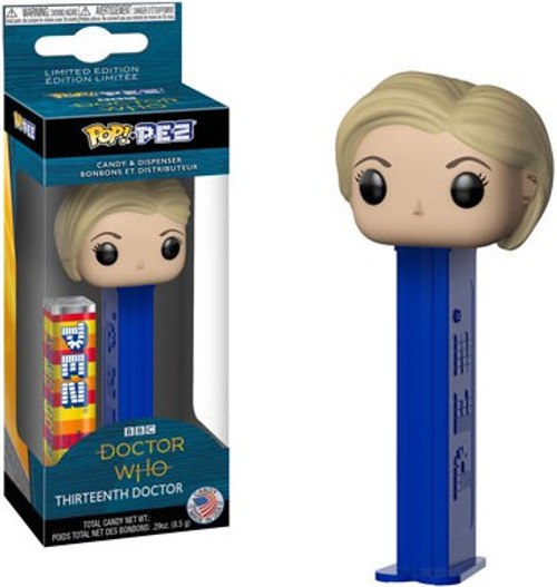 Funko Doctor Who POP! PEZ Thirteenth Doctor Candy Dispenser
