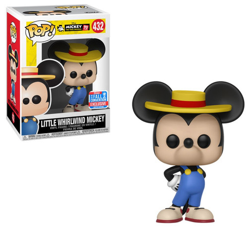 Funko Mickey The True Original POP! Disney Little Whirlwind Mickey Exclusive Vinyl Figure #432 [90th Anniversary]