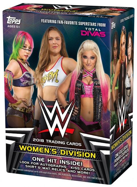 WWE Wrestling Topps 2018 Women's Division Trading Card BLASTER Box [10 Packs & 1 Bonus Pack]