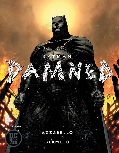 DC Black Label Batman Damned #2 of 3 Comic Book [Jim Lee Variant Cover]