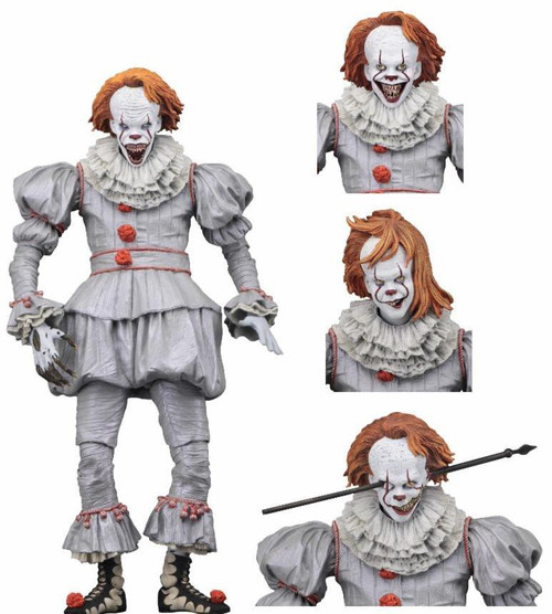 NECA IT Movie (2017) Pennywise Action Figure [Ultimate Version, Well House]