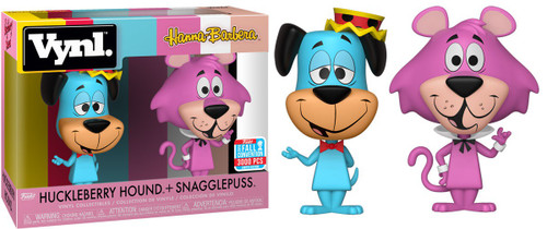 Funko Hanna-Barbera The Quick Draw McGraw Show Vynl. Huckleberry Hound & Snagglepuss Exclusive Vinyl Figure 2-Pack