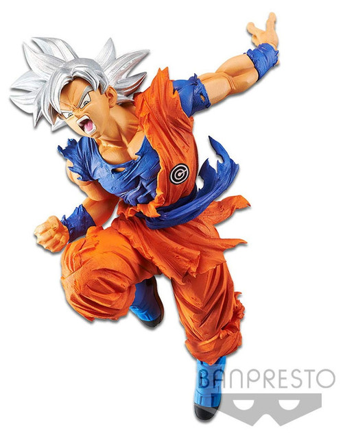 Super Dragon Ball Heroes Heroes Transcendence Art Ultra Instinct Son Goku 7-Inch Collectible PVC Figure Vol. 4