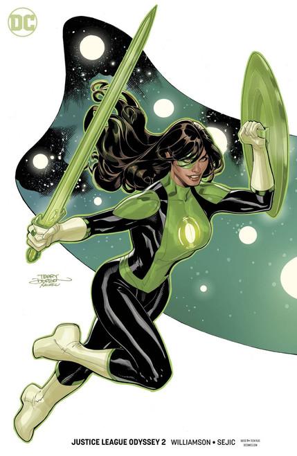 DC Justice League Odyssey #2 Comic Book [Terry Dodson & Rachel Dodson Variant Cover]