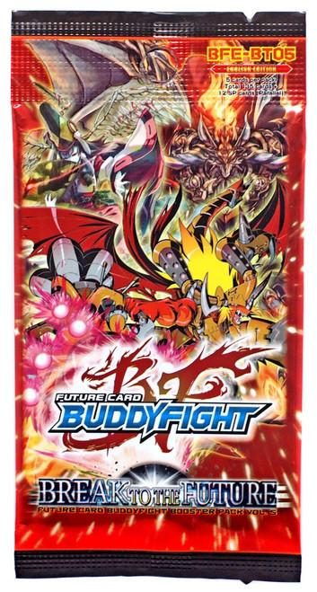 Future Card BuddyFight Break to the Future Booster Pack [5 Cards]