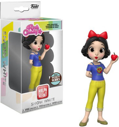 Funko Wreck It Ralph Ralph Breaks the Internet Rock Candy Snow White Exclusive Vinyl Figure [Specialty Series]