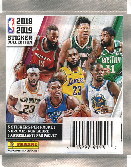 NBA Panini 2018-19 Basketball Sticker Collection Pack