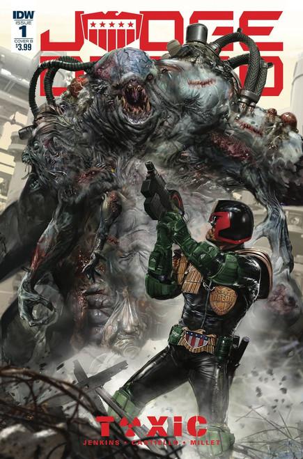 IDW Judge Dredd Toxic #1 Comic Book [John Gallagher Cover B Variant Cover]