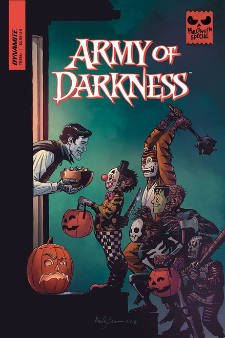 Dynamite Entertainment Army of Darkness One Shot Halloween Special Comic Book
