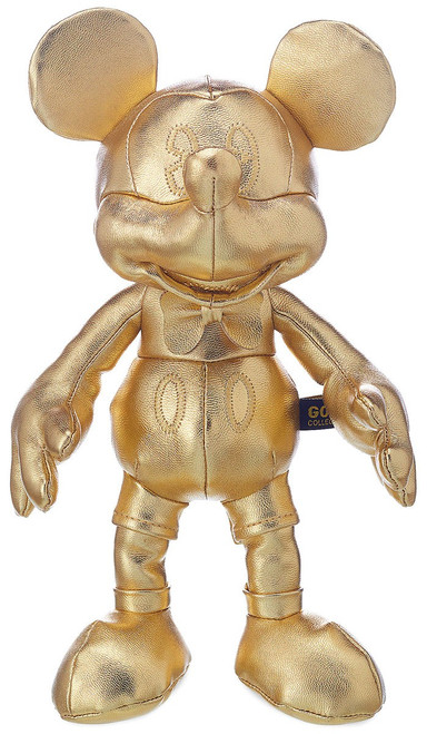 Disney Mickey the True Original 90 Years of Magic Mickey Mouse Exclusive 11-Inch Plush [Gold]