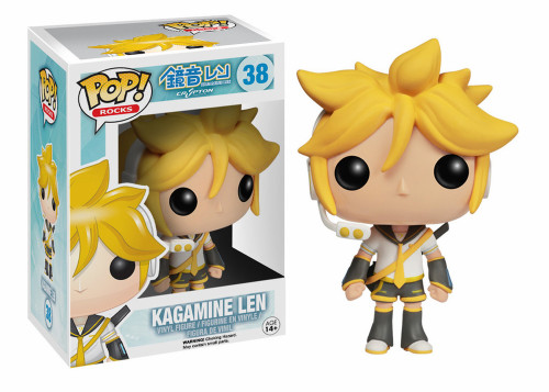 Funko Vocaloid POP! Rocks Kagamine Len Vinyl Figure #38