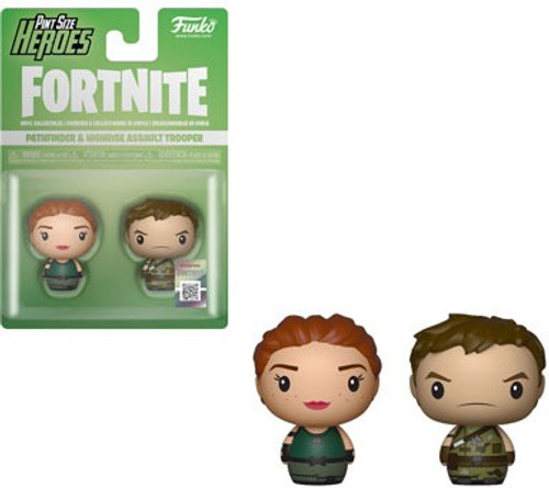 Funko Fortnite Pint Size Heroes Pathfinder & Highrise Assault Trooper Vinyl Figure 2-Pack