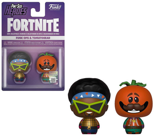 Funko Fortnite Pint Size Heroes Funk Ops & Tomato Head Vinyl Figure 2-Pack