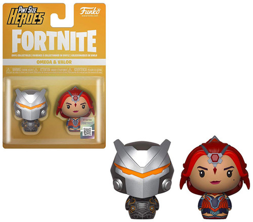 Funko Fortnite Pint Size Heroes Omega & Valor Vinyl Figure 2-Pack