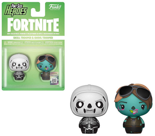 Funko Fortnite Pint Size Heroes Skull Trooper & Ghoul Trooper Vinyl Figure 2-Pack