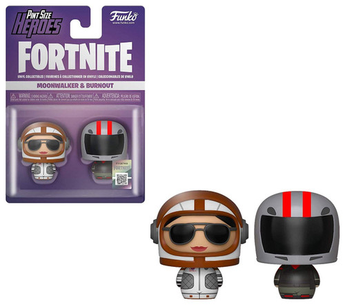 Funko Fortnite Pint Size Heroes Moonwalker & Burnout Vinyl Figure 2-Pack