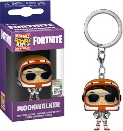 Funko Fortnite Pocket POP! Games Moonwalker Keychain