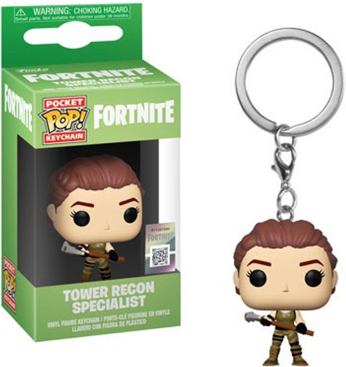 Funko Fortnite Pocket POP! Games Tower Recon Specialist Keychain