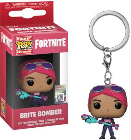 Funko Fortnite Pocket POP! Games Brite Bomber Keychain