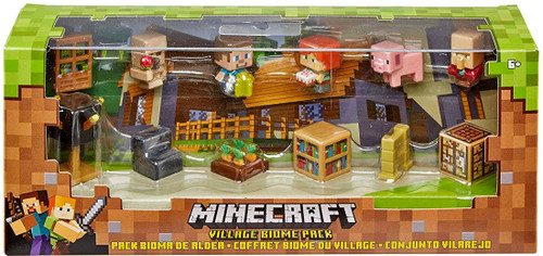 Minecraft Village Biome Pack Mini Figure 12-Pack