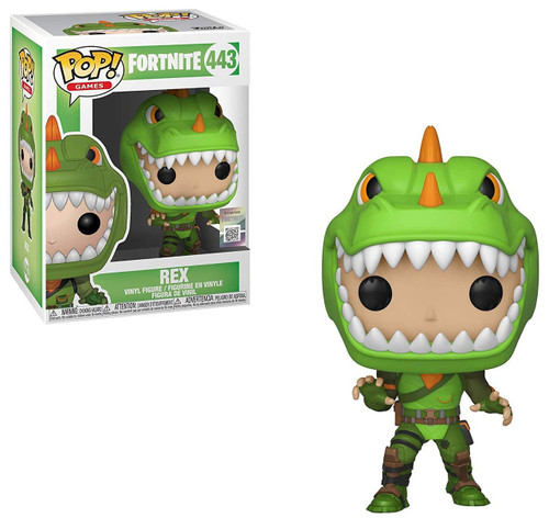 Funko Fortnite POP! Games Rex Vinyl Figure #443