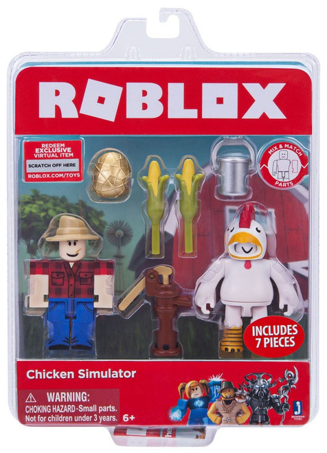 Roblox Chicken Simulator Action Figure Game Pack