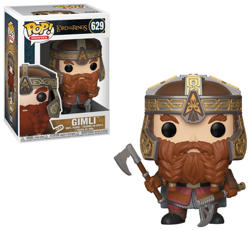Funko Lord of the Rings POP! Movies Gimli Vinyl Figure #629 [With Ax]