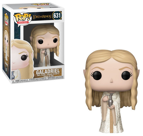 Funko Lord of the Rings POP! Movies Lady Galadriel Vinyl Figure #631 [White Robe]