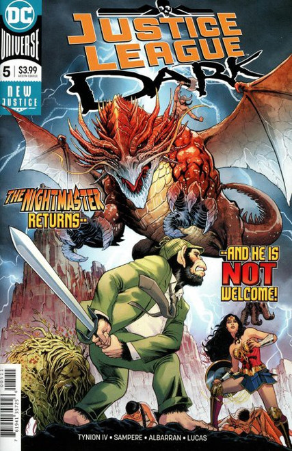 DC Justice League Dark #5 Comic Book