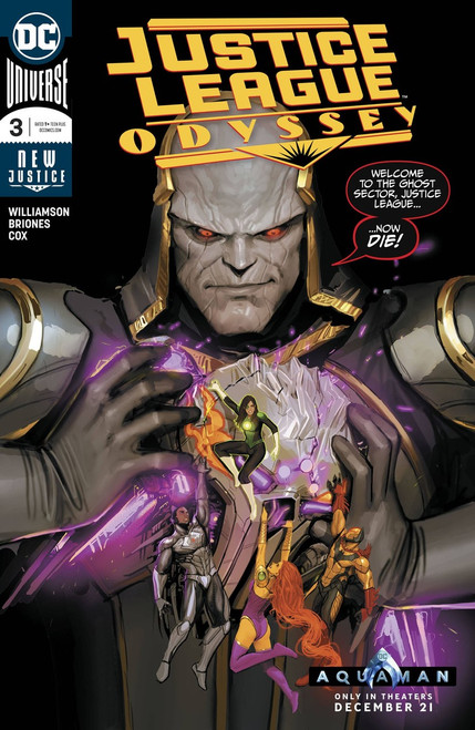 DC Justice League Odyssey #3 Comic Book