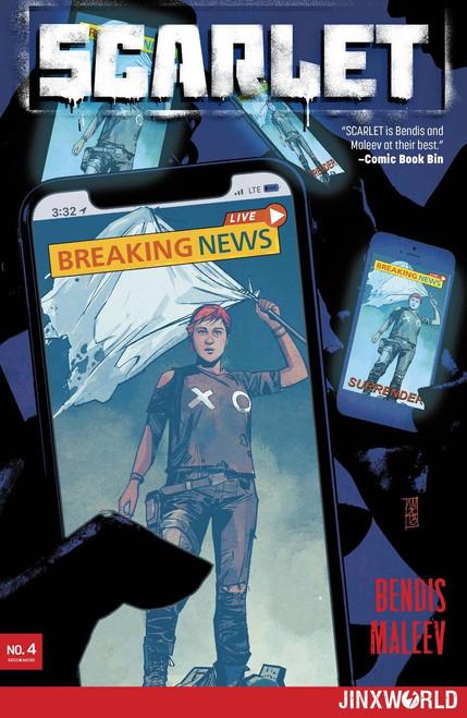 DC Scarlet #4 of 5 Comic Book
