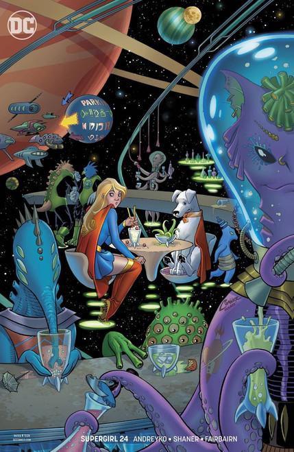 DC Supergirl #24 Comic Book [Amanda Connor Variant Cover]