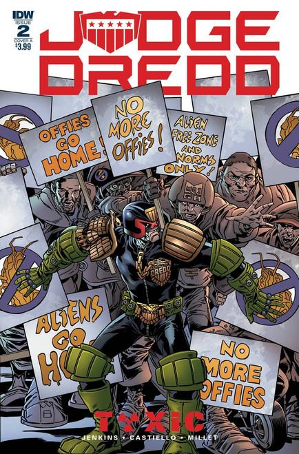 IDW Judge Dredd Toxic #2 Comic Book