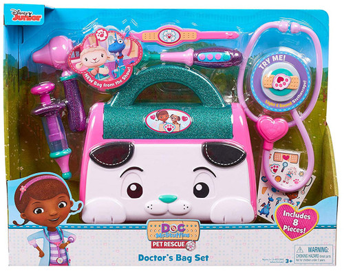 Disney Doc McStuffins Pet Rescue Doctor's Bag Set