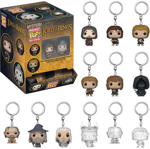 Funko Pocket POP! Keychain Lord of the Rings Mystery Box [12 Packs]