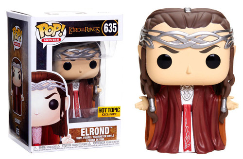 Funko Lord of the Rings POP! Movies Elrond Exclusive Vinyl Figure #635