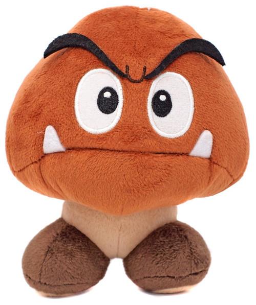 Super Mario All Star Collection Goomba 6-Inch Plush