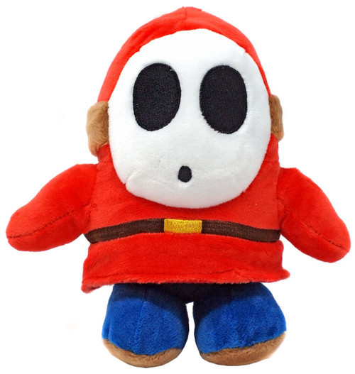 Super Mario All Star Collection Shy Guy 6.5-Inch Plush