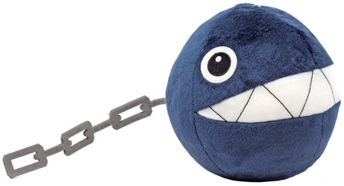 Super Mario All Star Collection Chain Chomp 6-Inch Plush