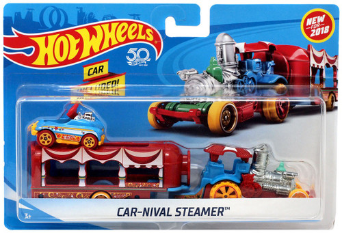 Hot Wheels Car-Nival Steamer Die-Cast Car [Damaged Package]
