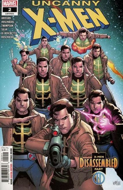 Marvel Comics Uncanny X-Men #2 Comic Book