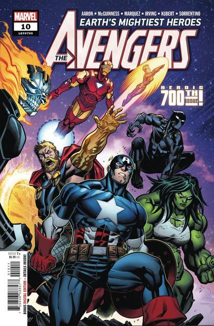 Marvel Comics Avengers #10 Comic Book