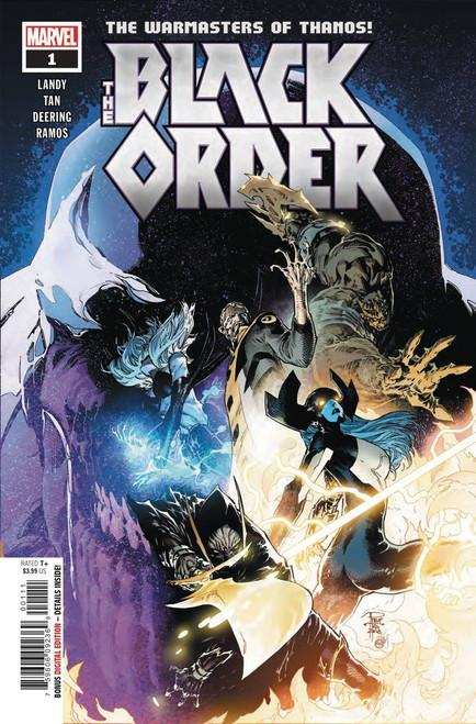 Marvel Comics Black Order #1 Comic Book