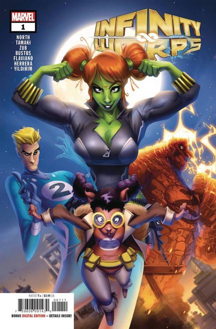 Marvel Comics Infinity Wars #1 of 2 Infinity Warps Comic Book