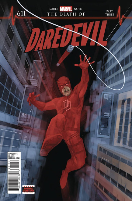 Marvel Comics Daredevil #611 Comic Book