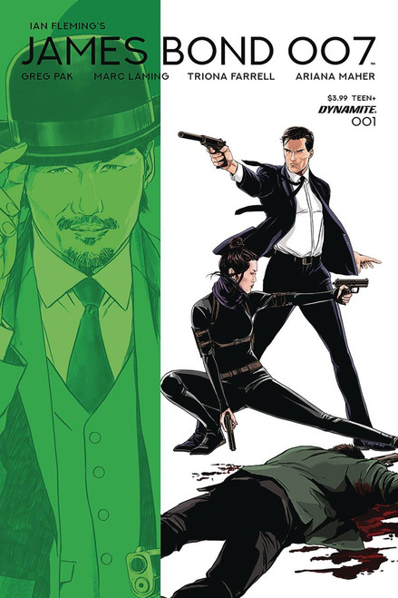 Dynamite Entertainment James Bond 007 #1 Comic Book [Marc Laming Cover D Variant]