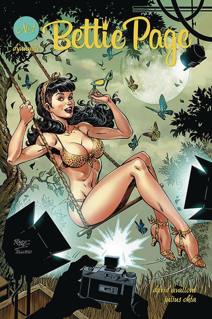 Dynamite Entertainment Bettie Page #1 Comic Book