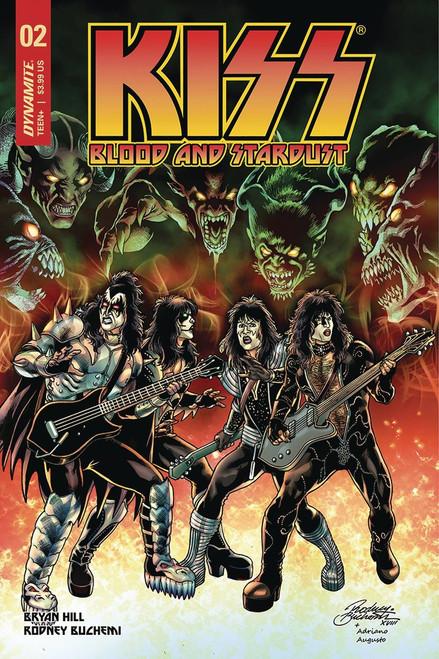 Dynamite Entertainment Kiss Blood Stardust #2 Comic Book [Rodney Buchemi Cover B Variant]